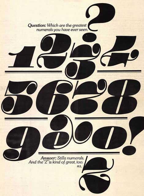 Stilla-numerals